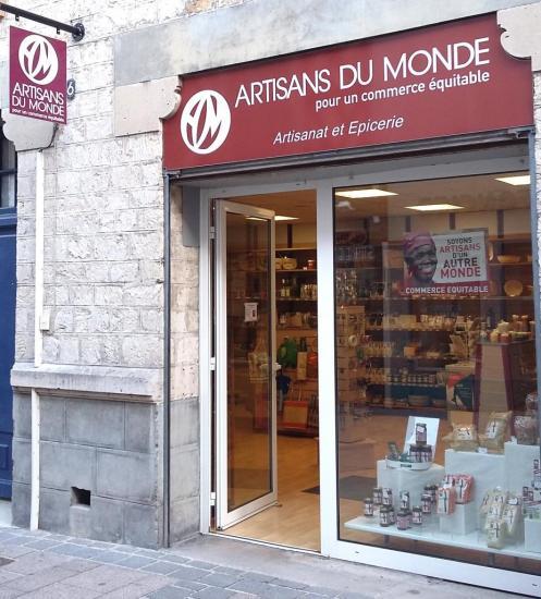 La boutique s'est installée rue des poissonniers.
